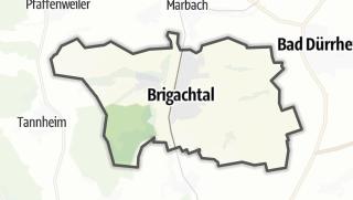 Karte / Brigachtal