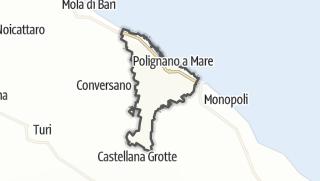 Térkép / Polignano a Mare