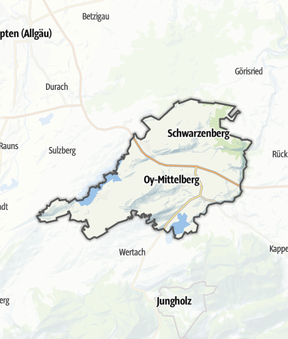 Map / Oy-Mittelberg