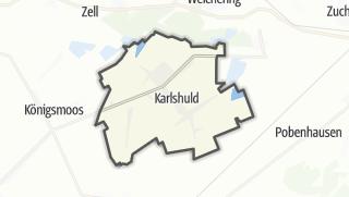 Mapa / Karlshuld