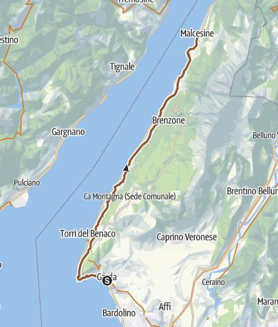 Map / Garda Malcesine Tour
