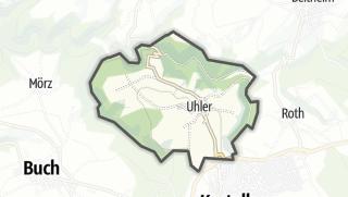 Karte / Uhler