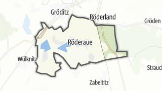 Cartina / Röderaue