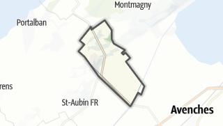 Карта / Villars-le-Grand