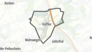Karte / Hüffler