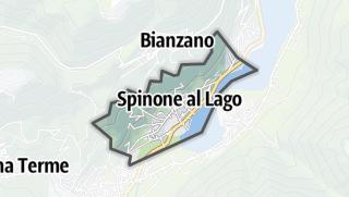 Hartă / Spinone al Lago