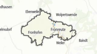 Karte / Fronreute