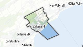 Карта / Vallamand