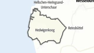 Mapa / Hedwigenkoog