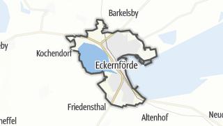 Karte / Eckernförde