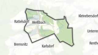 Karte / Weißbach