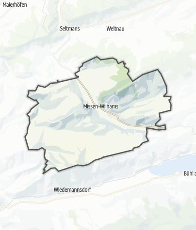 Karte / Missen-Wilhams