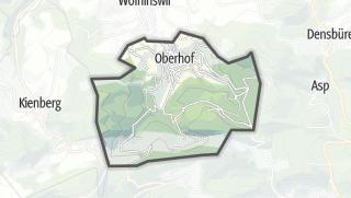 地图 / Oberhof