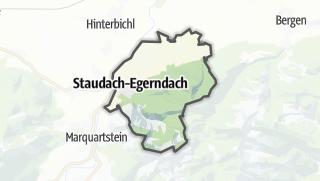 地图 / Staudach-Egerndach