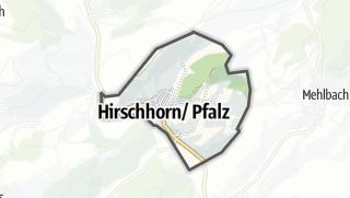 Cartina / Hirschhorn/Pfalz