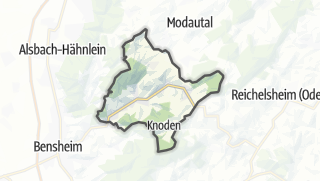Karte / Lautertal (Odenwald)