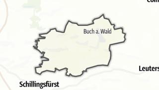Map / Buch am Wald