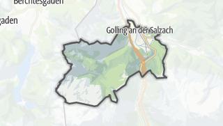 Karte / Golling an der Salzach