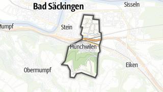 מפה / Münchwilen (AG)