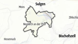 Cartina / Kradolf-Schönenberg