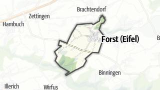 Karte / Dünfus