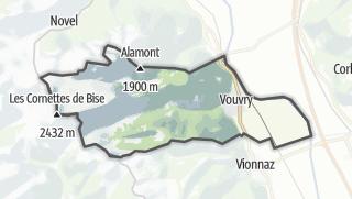 Térkép / Vouvry