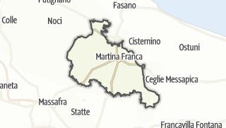Térkép / Martina Franca