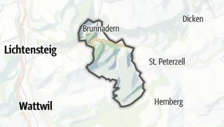 Karte / Brunnadern