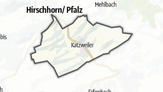 Cartina / Katzweiler