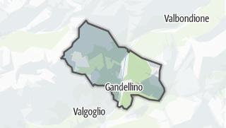 Hartă / Gandellino