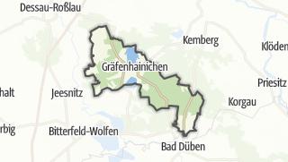 Mapa / Gräfenhainichen