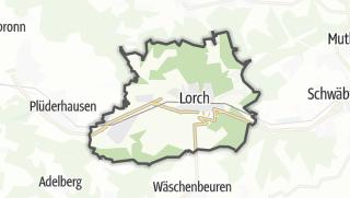 Mapa / Lorch