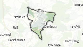 Karte / Sassen