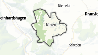 Cartina / Bühren