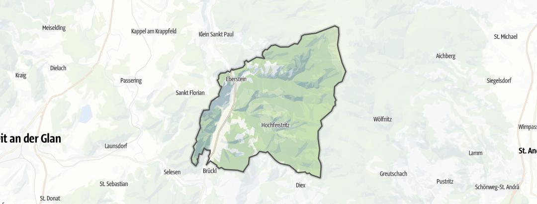 Mappa / Cammini a Eberstein