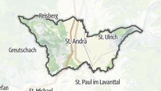 Cartina / Sankt Andra