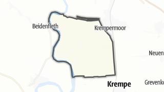 地图 / Bahrenfleth