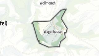 Karte / Wagenhausen