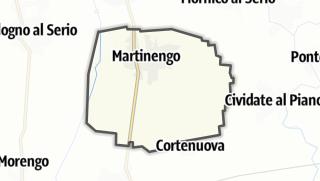 Hartă / Martinengo