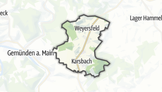 Cartina / Karsbach