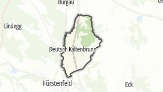Mapa / Deutsch Kaltenbrunn