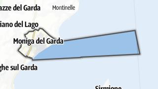 Karte / Moniga del Garda