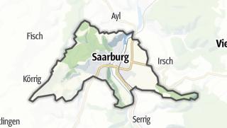 Karte / Saarburg