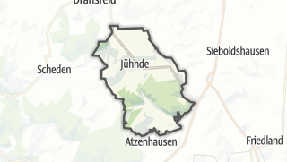 Cartina / Jühnde