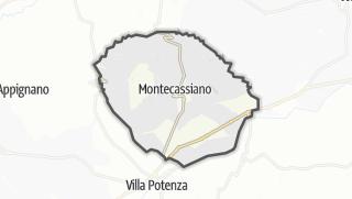 Hartă / Montecassiano