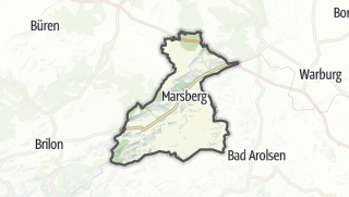 Mapa / Marsberg