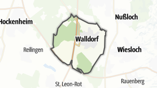 地图 / Walldorf
