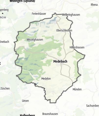 Karte / Medebach