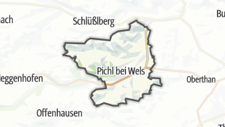 מפה / Pichl bei Wels