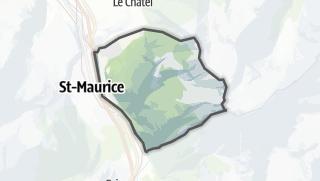 地图 / Lavey-Morcles